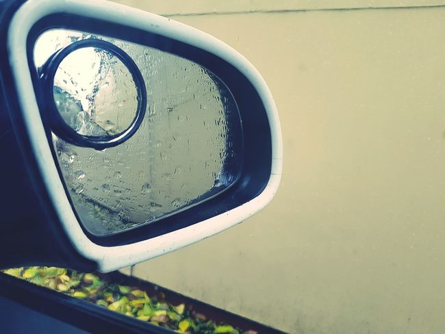 The Drive Close-up Metal No People Indoors  Vehicle Mirror Day Water