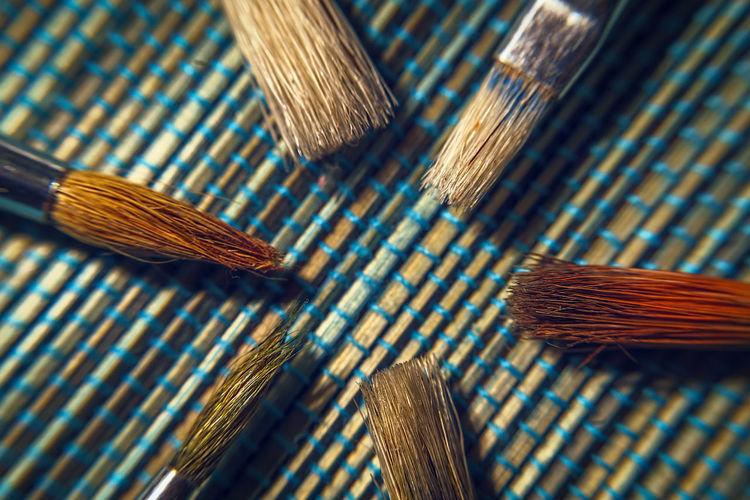 Brushes close