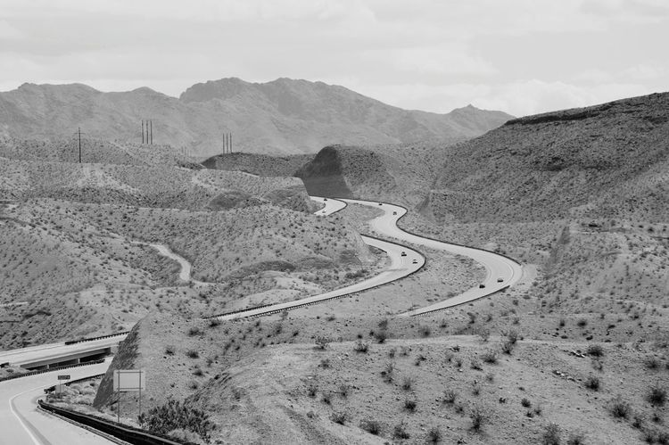 Transportation Mountain Mountain Range Curve Road Highway Winding Road Journey Driving Landscape Day Outdoors Nature Mountain Road Fresh On Eyeem  EyeEm Gallery Abstract Mountains Travel Destinations Nature Ontheroadagain Beauty In Nature Travel Sky Black And White