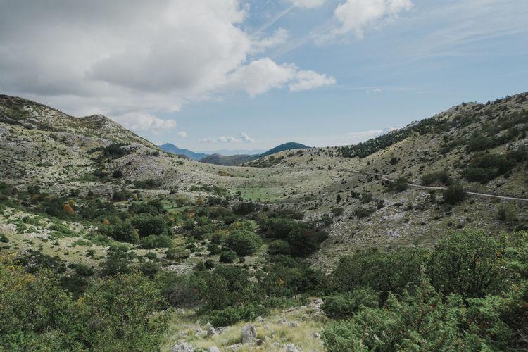 Beauty In Nature Cloud - Sky Croatia Day Landscape Mountain Mountain Range Nature No People Sky Sveti Jure