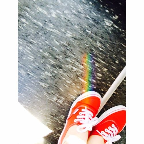 Arcobaleno  Rainbow Colours Vans Red Imagine 🌈☀️