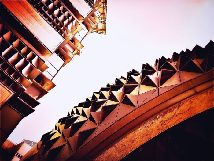 Architecture Building Exterior Low Angle View Architectural Detail Abstractphotography Middle East Architectural Design Built Structure Masdar City Ecofriendly Ecocity Dubai Abu Dhabi