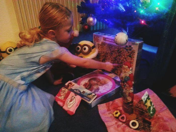 Christmas 2015 Weihnachten 2015 My Princess ♥ My Love❤ My Daughter ♥ Disney Frozen Minions