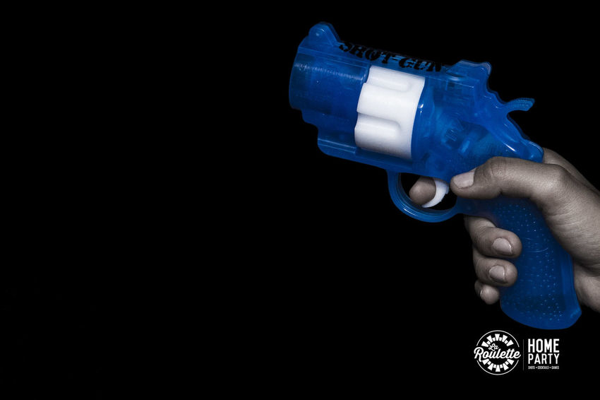 Black Background Blue Crazy Party Drink Sho Gun Of Drink Park Shots Start The Par