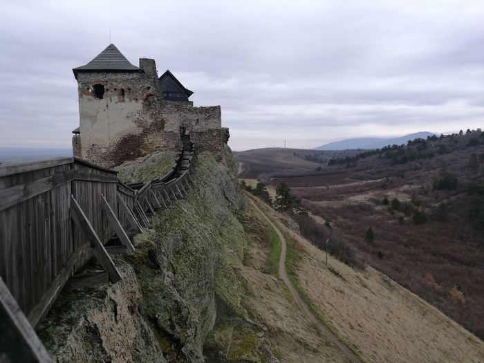 View with a castle HuaweiP9 Huawei P9 Leica Mobilephotography Mobile Photography Perspective Hungary Boldogkőváralja Agriculture Sky Architecture Lookout Tower Cultivated Land Castle Fortified Wall Fortress Fort Residential Structure Vineyard