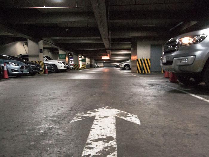 Lower ground The Way Forward No People Transportation Land Vehicle Parking Area Basement Eyeem Philippines Olympus OLYMPUS PEN E-P3