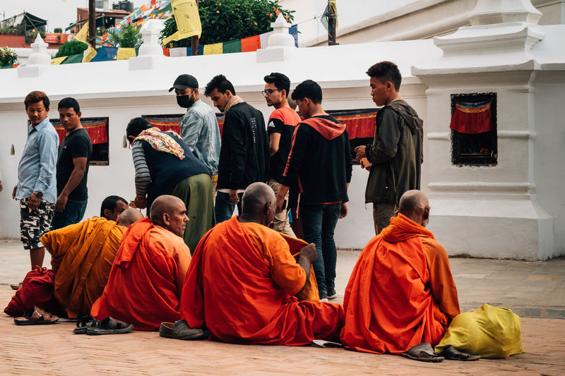 Buddhism Monks