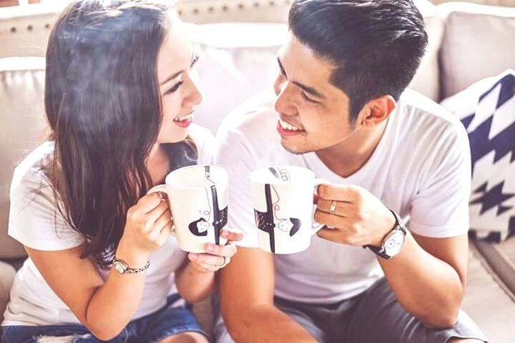 Coffee ☕ Togetherness Drink Couple Engagement Photography Love Bonding Prenup Prenupstyling Photography Mugs