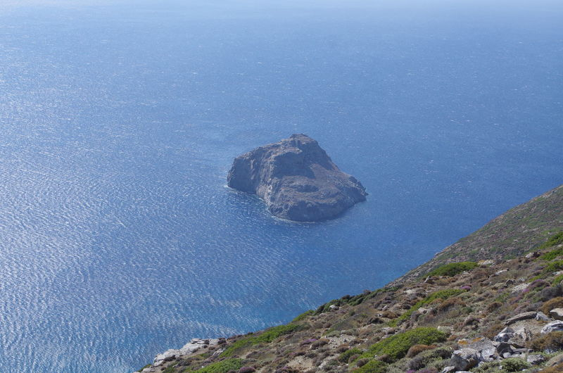 GREECE ♥♥ Griechenland Griechische Inseln Amorgos Amorgosisland Beauty In Nature Blue Day Greece High Angle View Nature No People Outdoors Sea Water