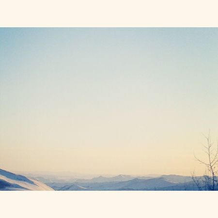 Mongolia Mountains Nature Sky