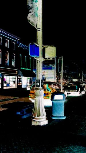 Night City Outdoors No People Architecture Scenics Town Center Walking Around Traffic City Life Colorful
