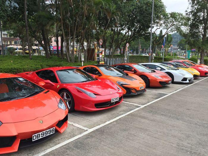 Ferrari HongKong Hypercars Lamborghini Mclaren P1 Meetup Supercars