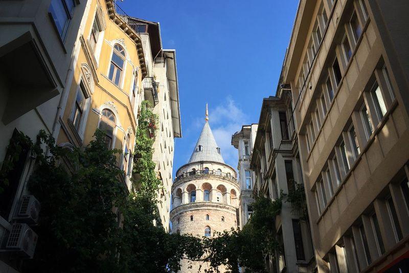 The Galata Kulesi tower in Istanbul, Turkey Istanbul Turkey Tower Traveling