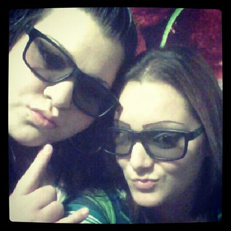 3D movie with one of my besties(;