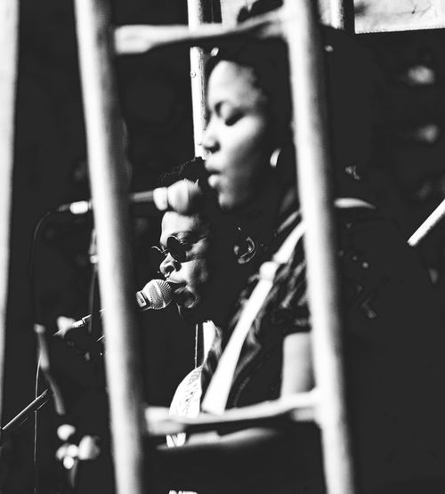 Artist Shamir performing at Illinois Tech to raise awareness for the LGBTQ society Black And White Childhood Close-up Day Indoors  Lgbt Lgbtq Lifestyles Music Musical Instrument Musician One Person People Playing Real People Young Adult