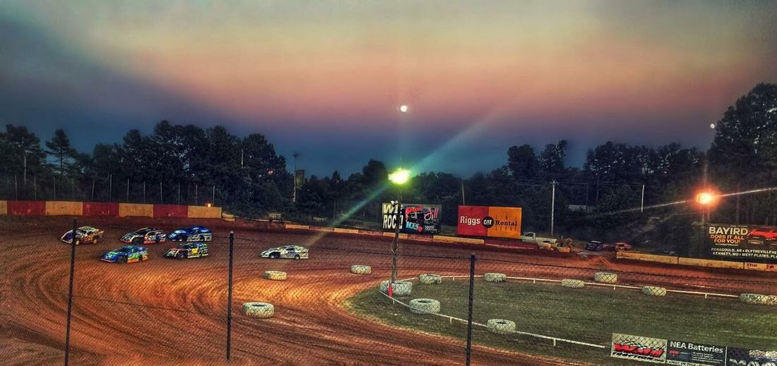 Dirt track racing and seeing Mars all in one night Dirt Track Racing Mars