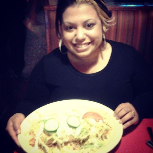 out to lunch with my hubby... ♥♥♥♥♥♥ Lasmargaritasrestaurant Me &hubbytime Burritoloco Dontjudgeme lol.