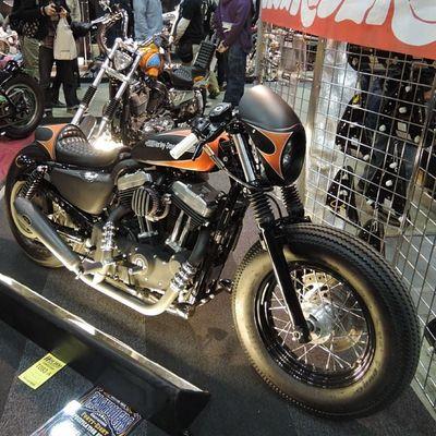Yokohama hotrod custom show 2013 Hcs2013 Harleydavidson Sportster Chopper bobber caferacer frisco