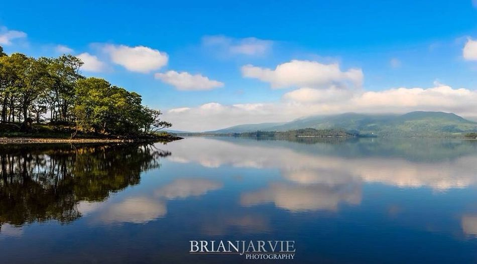 Loch Lomond Reflection Skyporn Water Reflections