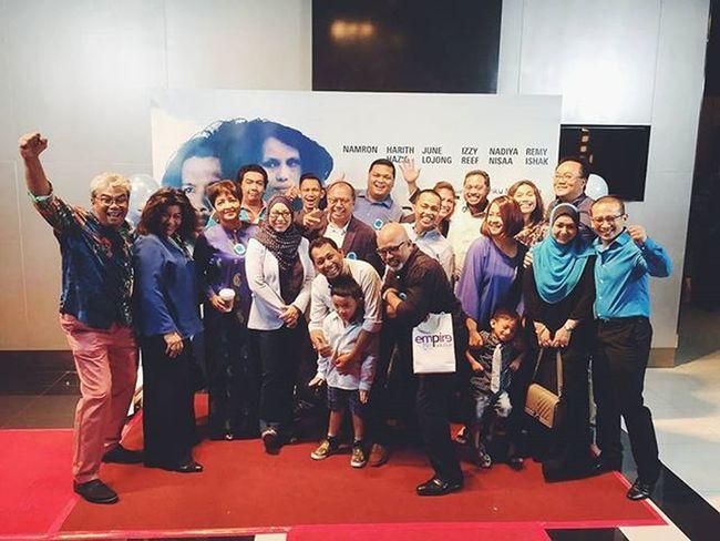 Tb LaunchFilm Redha SupportAuntyTunkuMonaRizaFilm