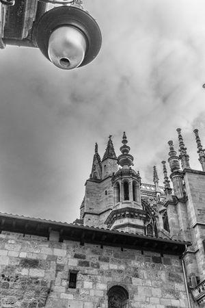 Catedral de León. Catedral Gotico Blackandwhite Monochrome Blackandwite Blancoynegro Arquitectura Arquitecture Streetphotography LeonEsp
