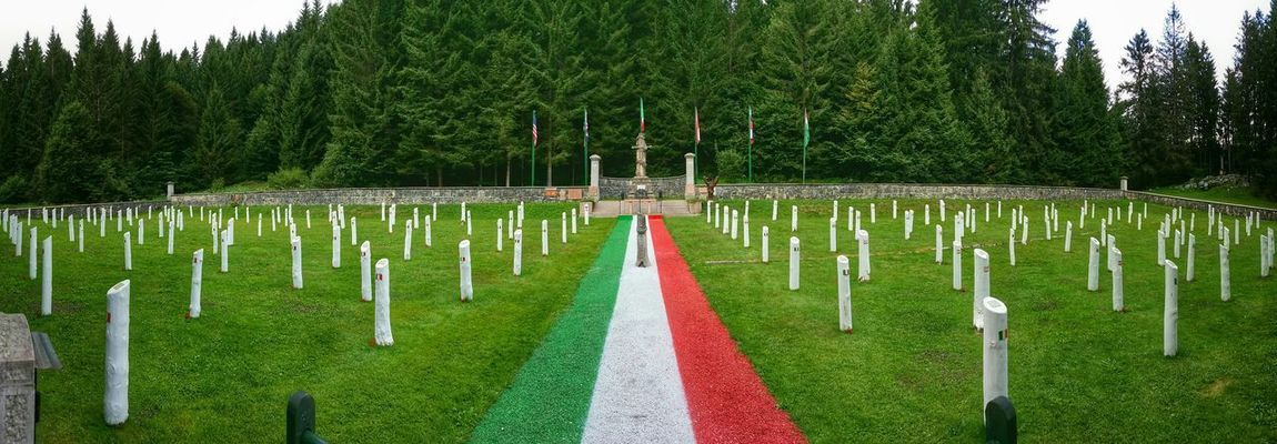 Asiago Highland, Vicenza, Italy Traveling Italy Asiago Highland Photography Art Fineart Wwi Historical Landmarks Italian Military Cemetery Crosses