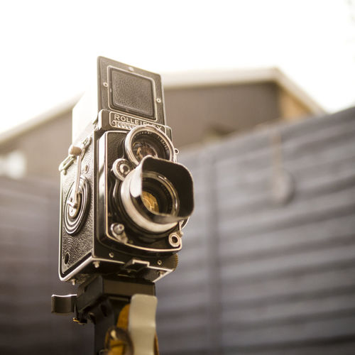 Rolleiflex Twin Lens Reflex Camera Camera Close-up Film Film Photography German Medium Format Camera No People Old Retro Rolleiflex Twin Lens Reflex