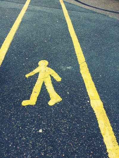 Walk Signs Just For Fun 'Banksy' Lite