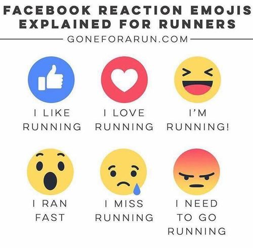 Running Smiley's #Facebook Emoji Fit