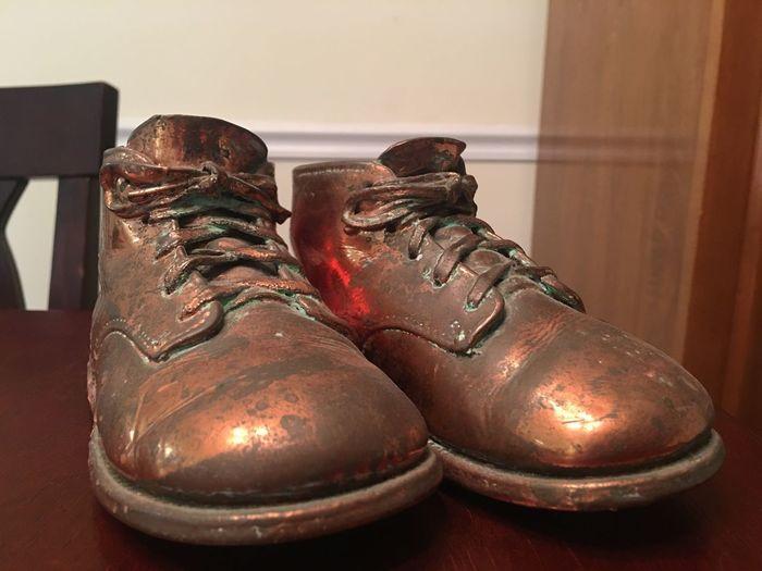 Still Life Shoe Shoes Bronze Bronzed Shoes Sentimental Sentimental Values Of Life Sentimental Objects