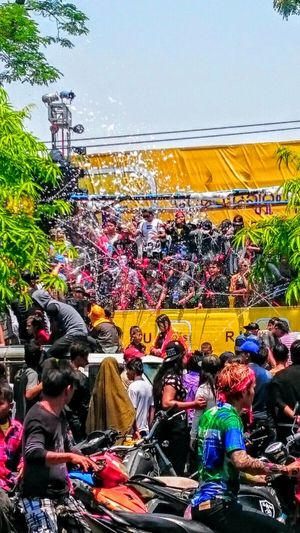 Myanmar Life Myanmar Burma Birma Mandalay Thingyan  Water Festival Thingyan Water Festival Party New Year Songkran Water Games Squirting Water Getting Wet And Wild Tradition Meets Modern The Street Photographer - 2016 EyeEm Awards On The Way