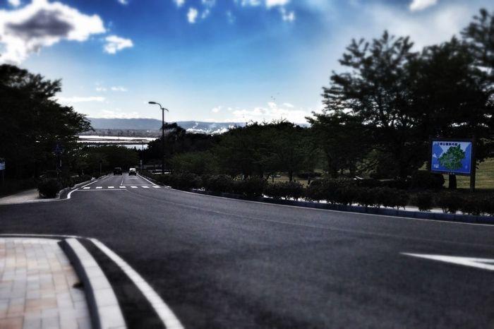 そして登ったら当然下るわけで…これまた地獄の下り坂‾\(´・д・`)/‾ #iPhoneography IPhoneography Marathon Snapseed