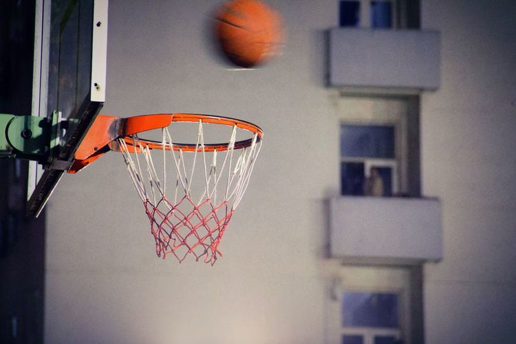 Basketball Hoop Sport Close-up Hanging No People Outdoors Day Basketball - Sport Court Architecture Basketball