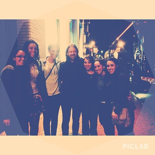 We got a chance to meet Jon foreman the lead singer of Switchfoot last night. Super sweet and awesome guy!! Worththewaitinthecold Excusethelightonmyface Greatconcert bestweekendever nola piclab vscocam