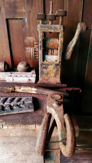 EyeEm Selects No People Indoors  Day Close-up Tools Wooden Tools Handmade Museum Thailand Shadows & Lights