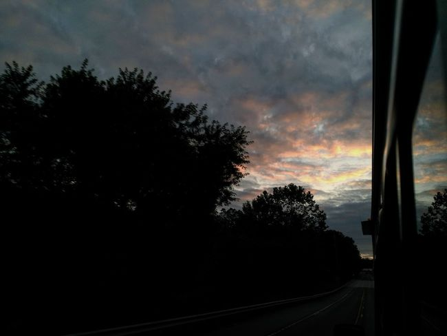 Cloud - Sky Sunset Sky Outdoors Storm Cloud Tree