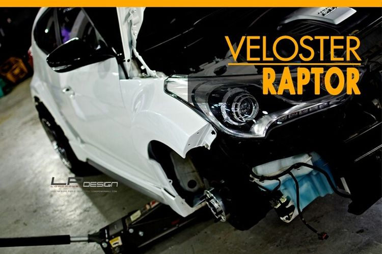 Veloster Bodykit Tuned Veloster Veloster Raptor LORDPOWER DESIGN Full Body Kit 나만의 차를 완성하는 곳_로드파워디자인 Hyundai Veloster Turbo Raptor Kdm Veloster