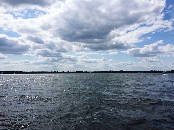 Going Sailing Dyas Beautiful Day Lake Berlin