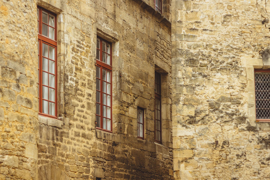 Architecture City France Houses Sarlat Streets The Week On EyeEm Building Building Exterior Built Structure Houses And Windows Old Stone Street Windows Yellow