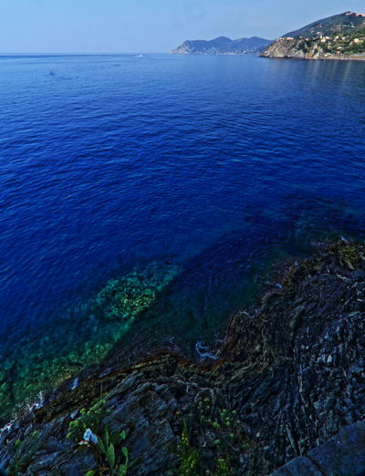 5 Terre Beauty In Nature Blue Calm Canon 10-22mm Canon 700D Day Hdr_Collection Horizon Over Water Nature No People Non-urban Scene Outdoors Sea Sky Top Blue Tourism Tranquil Scene Tranquility