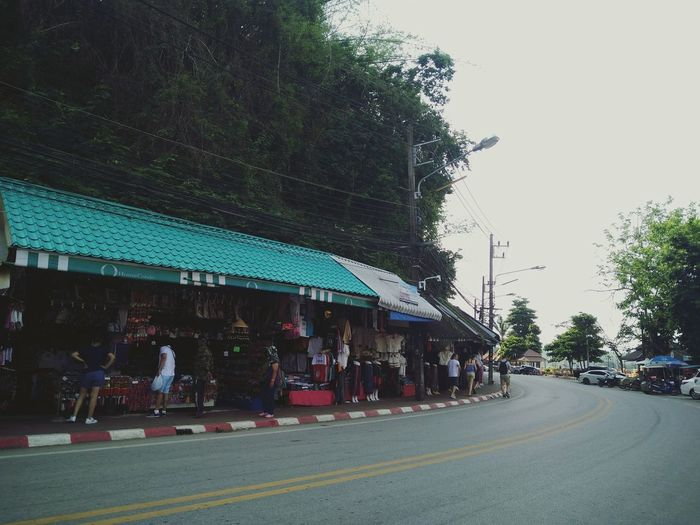 Live For The Story Road Street City Street Outdoors People Relaxing Thailand