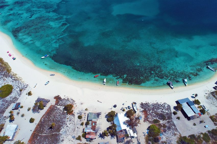 Aerial view of island and beach in Los Roques, Venezuela Water Sea High Angle View Group Of People Day Nature Beach Land Real People Aerial View Vacations Holiday Trip Outdoors Lifestyles Large Group Of People Crowd Turquoise Colored Swimming Swimming Pool Los Roques Madrisqui Caribe Caribbean Caribbean Life Caribbean Island Francisqui Crasqui Carenero's Beach Cayo De Agua Venezuela