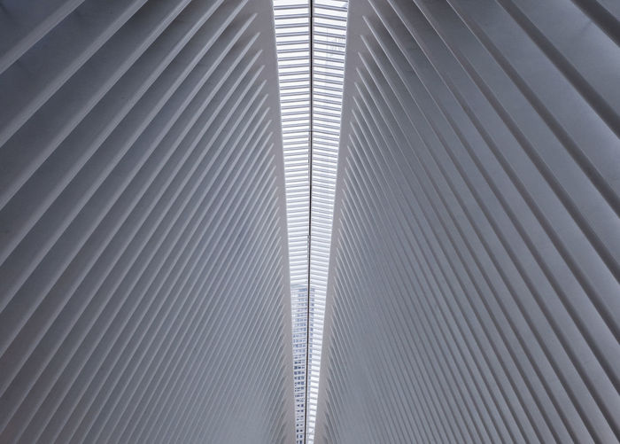 World Trade Center (Path-Station) Architecture Lines&Design New York New York City World Trade Center New York Abstract Architecture Backgrounds Built Structure Day Full Frame Indoors  Metal Modern No People Pathstation Pattern Striped Structure Sunlight Textured  World Trade Center The Architect - 2018 EyeEm Awards My Best Photo
