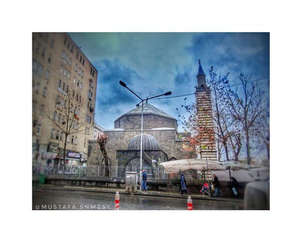 Uşak Fotography Doğa Nature Fotografia Siyahbeyaz Diyarbakır Cami Masque Building Exterior City Architecture Sky Arts Culture And Entertainment Outdoors Cityscape Skyscraper Day No People Urban Skyline