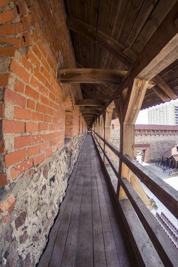 Architectural Column Architecture Belarus Built Structure Castle Empty Engineering Lida Long No People