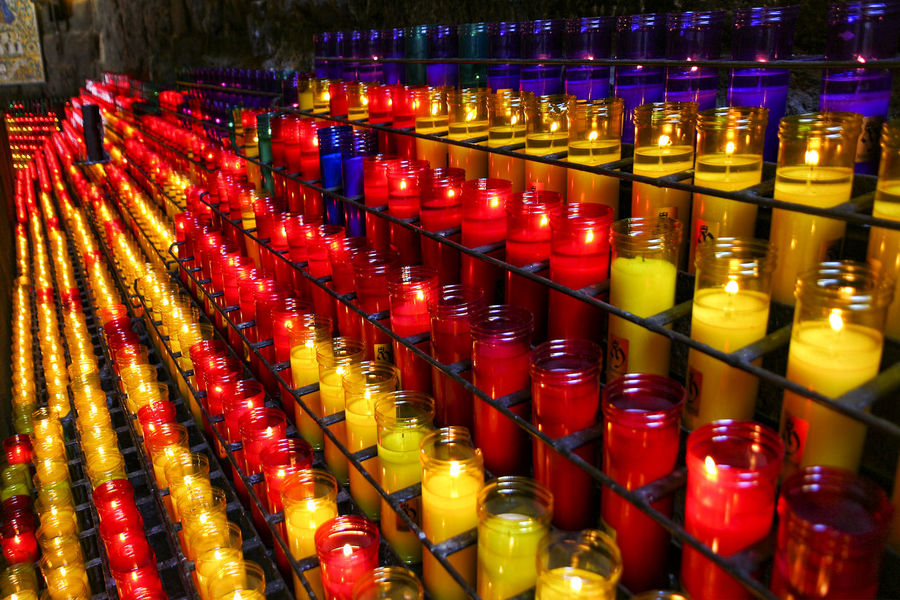 Candles 02 Abundance Arrangement Backgrounds Candles Collection Colored Candles Display Full Frame Green In A Row Large Group Of Objects Mediterranean Culture Mediterranean Lifestyle Multi Colored No People Purple Red Repetition Rithym Rows Side By Side Still Life Traditional Culture Variation Yellow