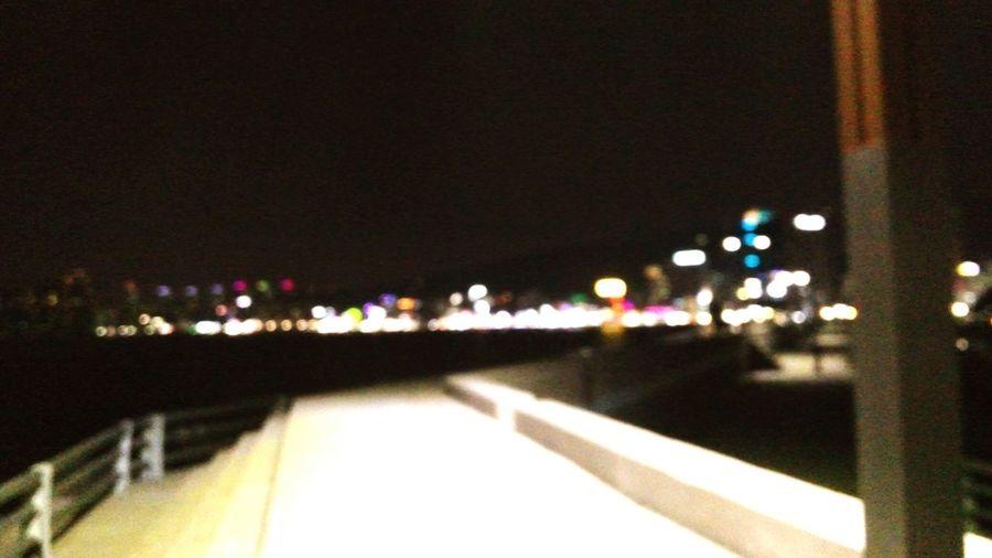 Night Lights Busan No Focus Blurred