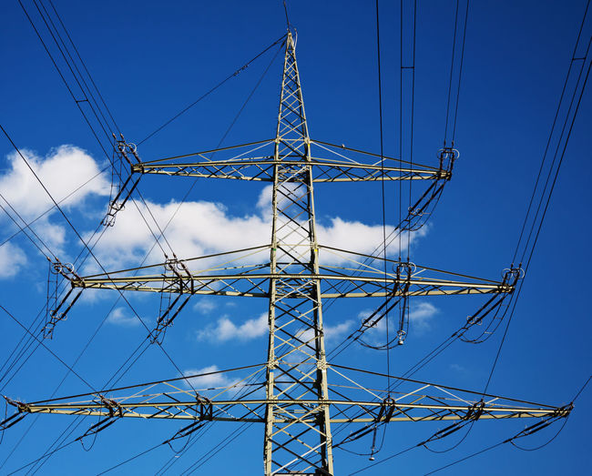 Electricity pole Connection Electric Electric Lines Electricity  Electricity  Electricity Pylon Energy Supply High Voltage High Voltage Line Power Line  Power Supply