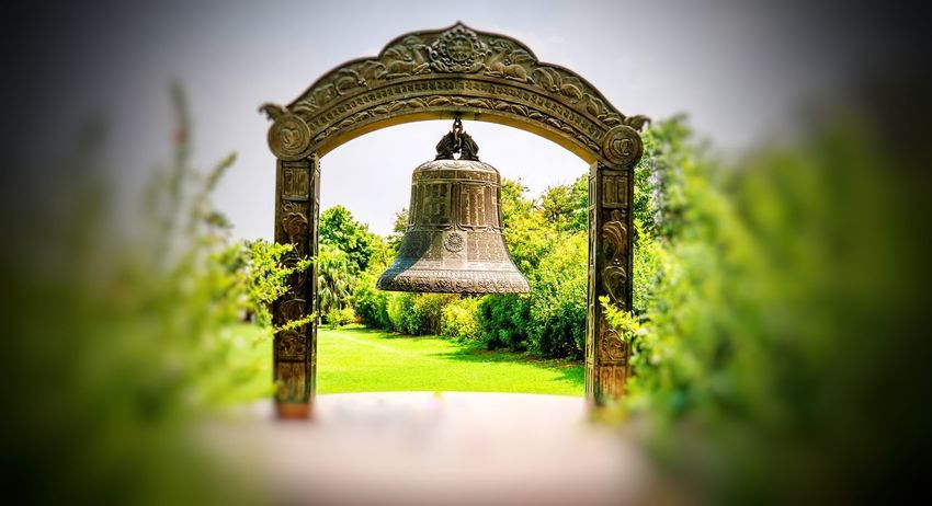 BuddhistBell Nalanda World Peace Bell Dharma Bell Archaeological Site Archaeological Museum Outdoors