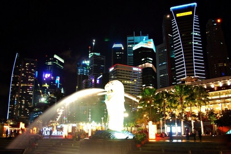 My Capture On Last Year At Singapore